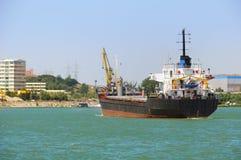 Vrachtschip Royalty-vrije Stock Foto's