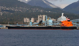 Vrachtschip stock fotografie
