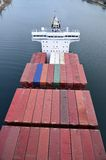 Vrachtschip CALISTO Royalty-vrije Stock Foto