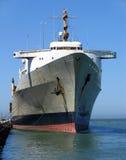 Vrachtschip Gedokt in Embarcadero Royalty-vrije Stock Fotografie