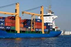 Vrachtschip HOLANDIA Royalty-vrije Stock Fotografie