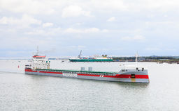 Vrachtschip Vlieborg Royalty-vrije Stock Fotografie