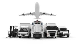 Vrachtvervoer Royalty-vrije Stock Foto