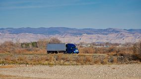 Vrachtvervoer naar Denver royalty-vrije stock fotografie