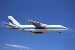 Vrachtvliegtuig Royalty-vrije Stock Afbeelding