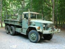 Vrachtwagen -1 van het Leger van het surplus Royalty-vrije Stock Fotografie