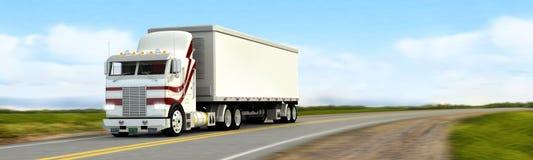 Vrachtwagen royalty-vrije stock afbeelding