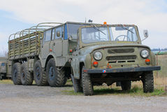 Vrachtwagen 2 van het leger Stock Fotografie