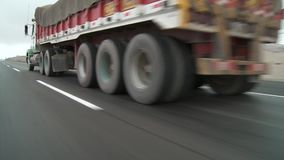 vrachtwagen stock video