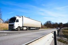 Vrachtwagen de manier Royalty-vrije Stock Afbeelding