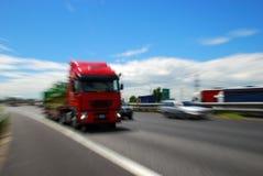 Vrachtwagen, Europa Stock Foto's