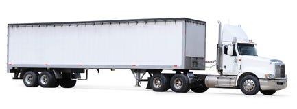 Vrachtwagen. Geïsoleerd Royalty-vrije Stock Afbeeldingen