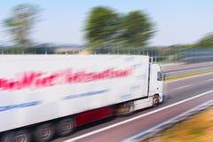 Vrachtwagen het Lopen Stock Fotografie