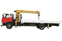 Vrachtwagen met de manager royalty-vrije stock afbeeldingen