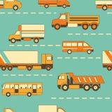 Vrachtwagen naadloze achtergrond Stock Foto