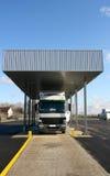Vrachtwagen op douane Royalty-vrije Stock Afbeeldingen