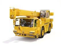 Vrachtwagen Opgezette Kraan stock afbeelding