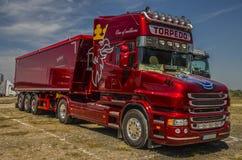 Vrachtwagen Scania Royalty-vrije Stock Foto's