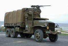 Vrachtwagen 5 van GMC CCKW Royalty-vrije Stock Foto's