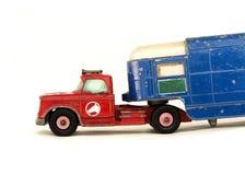 Vrachtwagen voor paarden Stock Afbeeldingen