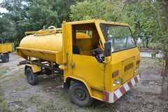 vrachtwagen voor watervervoer Royalty-vrije Stock Afbeeldingen