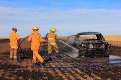 Vrachtwagenbrand Stock Fotografie