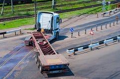 Vrachtwagendraaien stock fotografie
