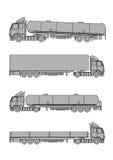 Vrachtwagens vector illustratie
