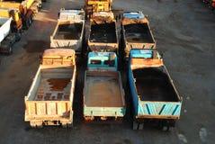 Vrachtwagens stock afbeelding