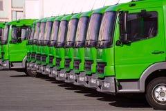 Vrachtwagens 2 Stock Afbeeldingen