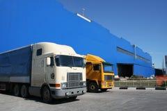 Vrachtwagens Stock Fotografie