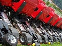Vrachtwagens Stock Foto's