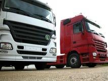 Vrachtwagens Royalty-vrije Stock Afbeeldingen