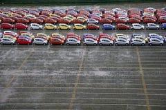 Vrachtwagens van de Changan de nieuwe fabriek Stock Fotografie