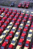 Vrachtwagens van de Changan de nieuwe fabriek Royalty-vrije Stock Foto's
