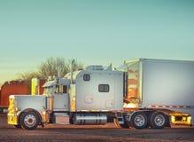 Vrachtwagenvrachtwagen Royalty-vrije Stock Fotografie