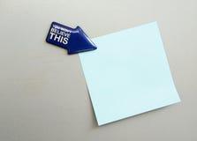 Vragen of besluit die - concept maken Stock Foto