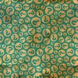 Vragen. Naadloos patroon. Royalty-vrije Stock Fotografie