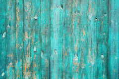 Vrai fond en bois vert de texture Vintage et vieux Photographie stock libre de droits
