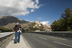 Vrai peuple de la Corse Photos libres de droits