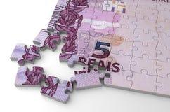 Vrai puzzle brésilien Photo libre de droits
