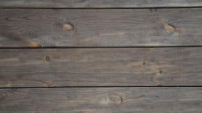 Vrai vieux fond en bois de vintage de texture Fond de Brown l'appareil-photo se déplace de gauche à droite banque de vidéos
