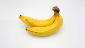 Vraie banane deux Photographie stock