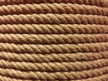 Vraie grande corde approximative et dure Image stock
