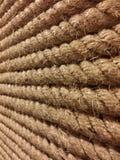 Vraie grande corde approximative et dure Photos stock