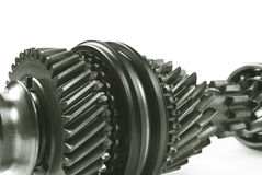 Vraies vitesses d'acier inoxydable Image stock