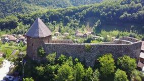 Vranduk fortress Royalty Free Stock Photos