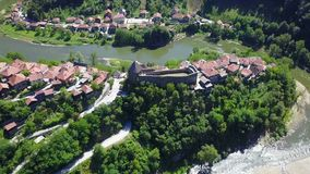 Vranduk fortress Royalty Free Stock Photo