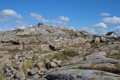 Vrango island coastline rocks Stock Image