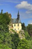 Vranov castle in Bohemia Stock Photo